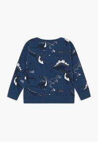 Lindex - MINI DINO - Sweatshirt - dark dusty blue - 1
