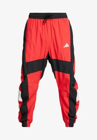 adidas Performance - SHAPE PANT - Tracksuit bottoms - scarlet - 4