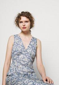 Polo Ralph Lauren - Maxi dress - blue/cream - 5