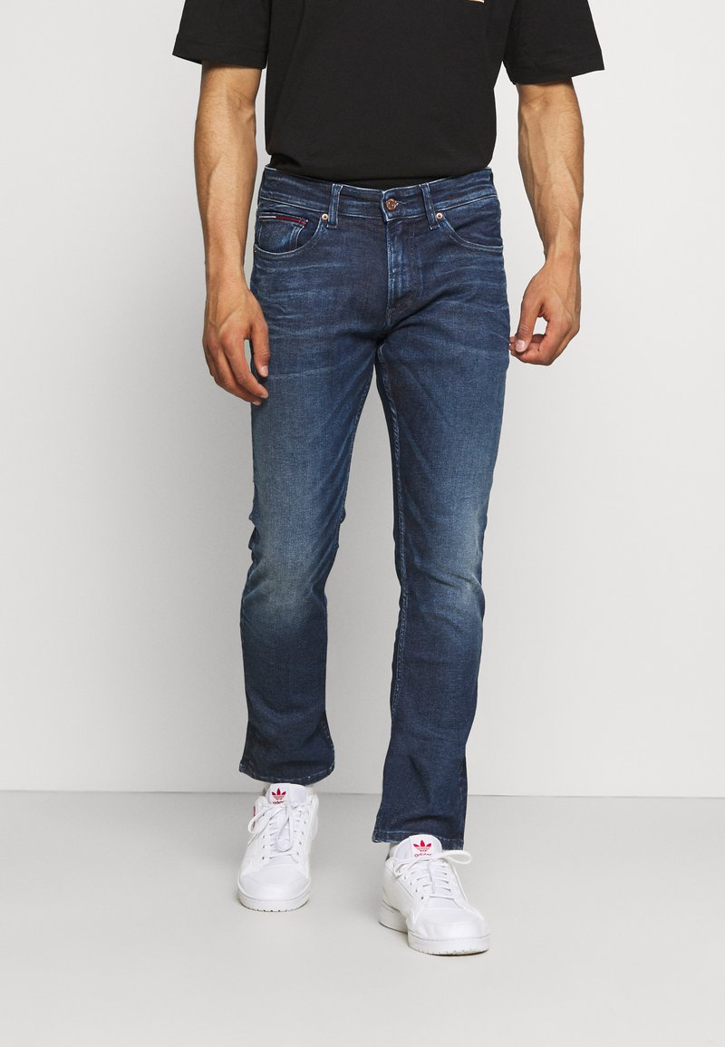 Tommy Jeans - SCANTON SLIM - Džíny Slim Fit - blue denim
