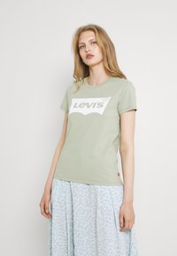 Levi's® - THE PERFECT TEE - T-shirt con stampa - desert sage - 0
