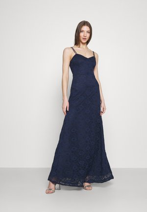 SWEETHEART NECK BRIDESMAID DRESS - Iltapuku - navy