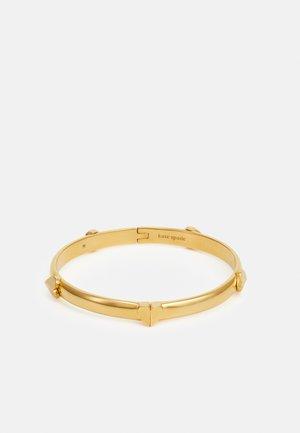 HINGED BANGLE - Bracelet - gold-coloured
