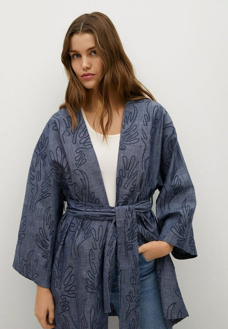 Mango - Summer jacket - dunkles marineblau