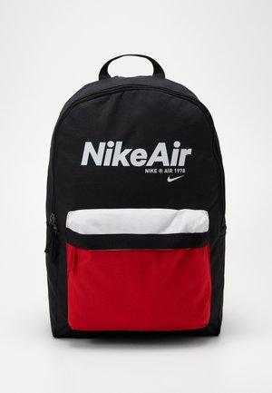 AIR HERITAGE - Sac à dos - black/university red/white