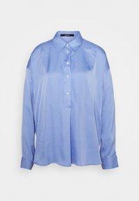 ZEIKE - Button-down blouse - balance blue