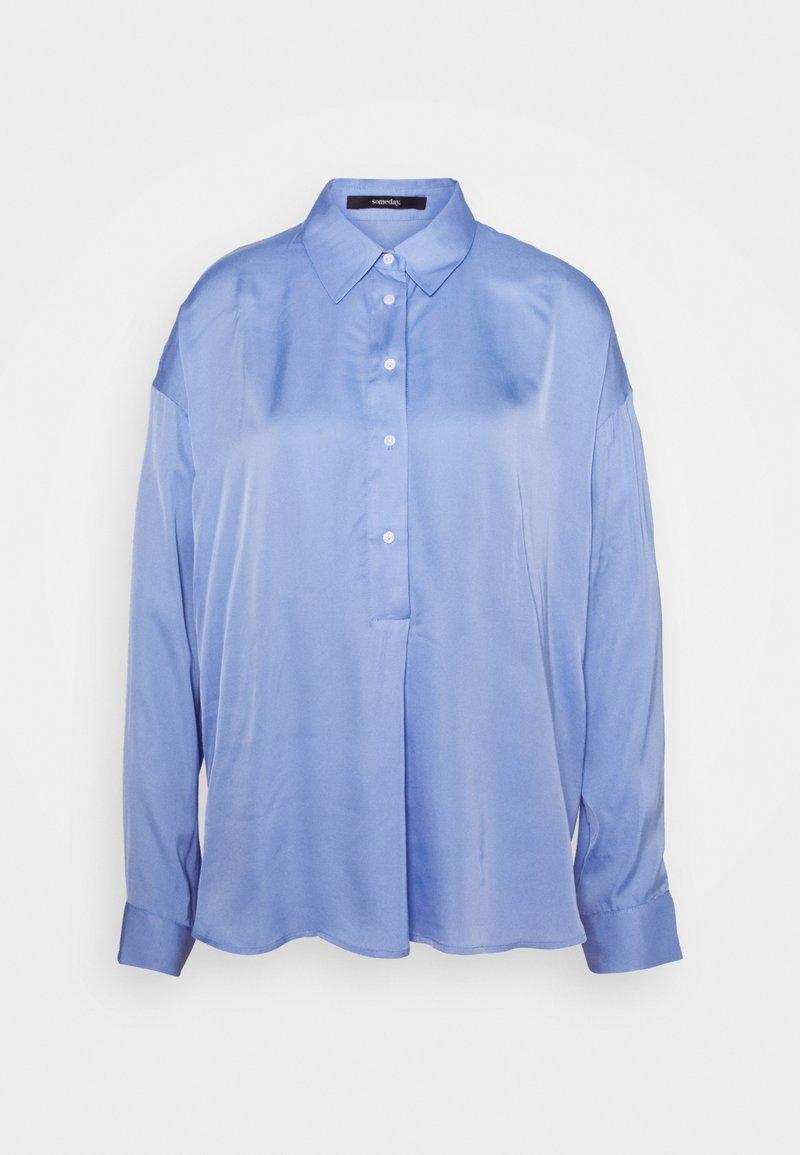 someday. - ZEIKE - Button-down blouse - balance blue