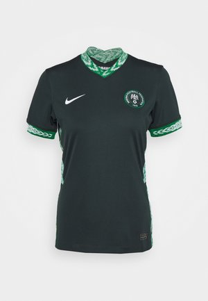 NIGERIA - Club wear - seaweed/white