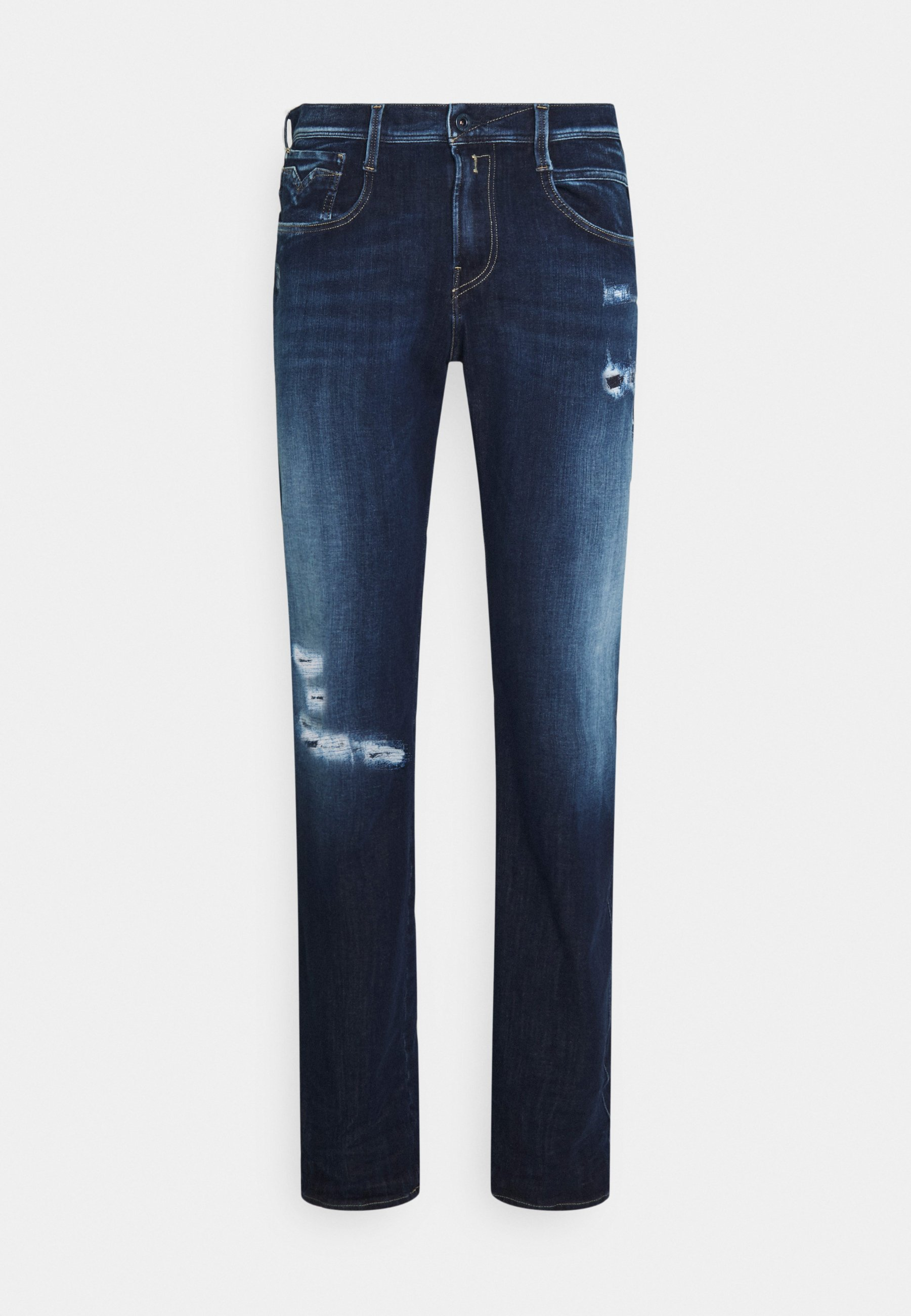Men ANBASS HYPERFLEX BROKEN&REPAIR - Slim fit jeans