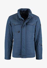 DNR Jackets - MIT VERDECKTER KNOPFLEISTE UND STEHKRAGEN - Light jacket - blue - 0