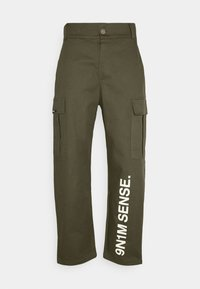 9N1M SENSE - PANTS UNISEX - Pantalon cargo - khaki - 5