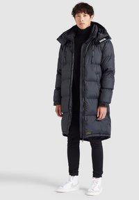 khujo - PERUN - Winter coat - schwarz print - 4