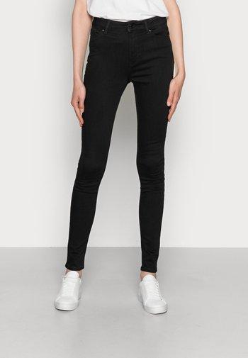 FLEX HARLEM SKINNY - Jeans Skinny Fit - black denim