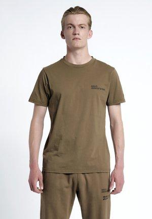 T-shirts print - brown