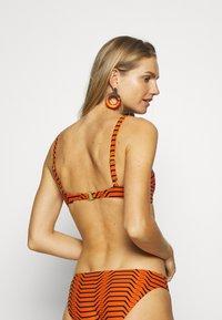 Diane von Furstenberg - ONIA MILA - Bikini top - orange - 2