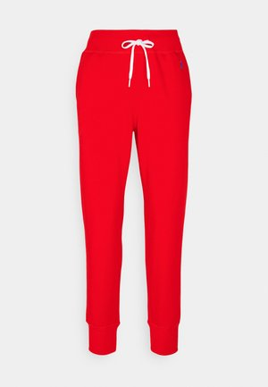FEATHERWEIGHT - Tracksuit bottoms - bright hibiscus