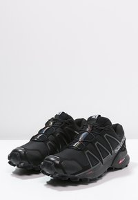 Salomon - SPEEDCROSS 4 - Vaelluskengät - black/black metallic - 2