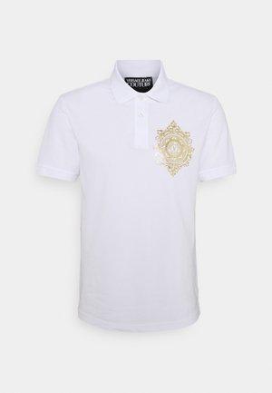 Polo - bianco/gold