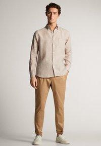 Massimo Dutti - Shirt - beige - 3