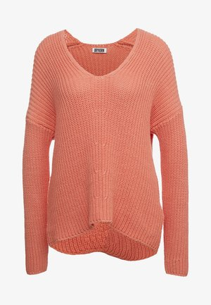 LINNA - Pullover - coral