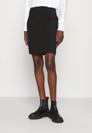 MILANO SKIRT - Pencil skirt - ck black