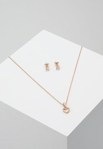 PREMIUM SET - Earrings - roségold-coloured