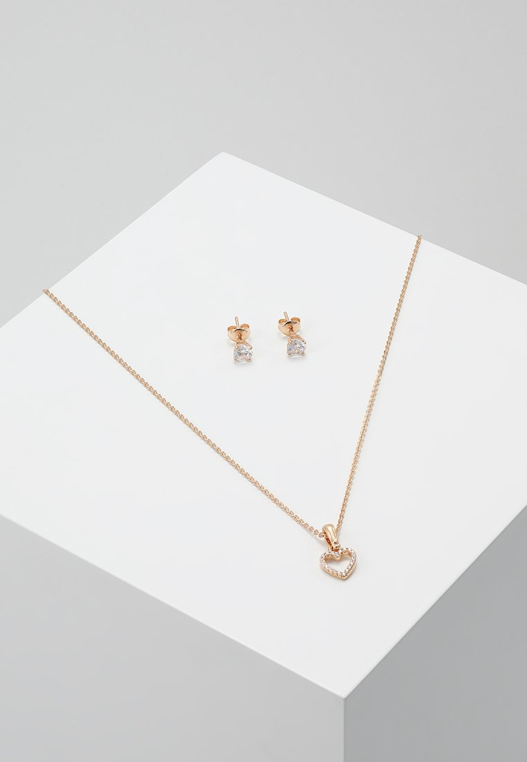 Michael Kors - PREMIUM SET - Boucles d'oreilles - roségold-coloured
