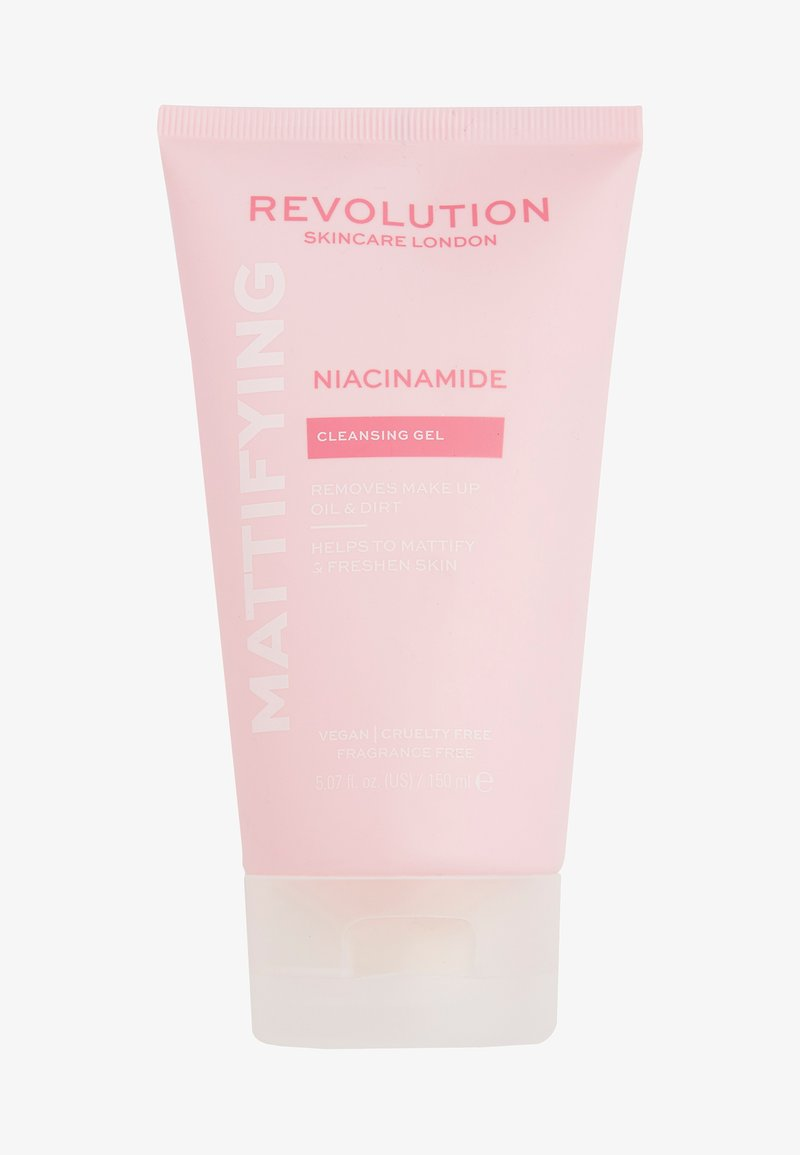 Revolution Skincare - NIACINAMIDE MATTIFYING CLEANSING GEL - Detergente - -