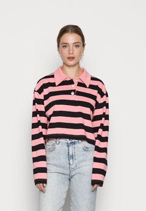 Piké - pink/black
