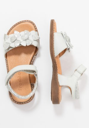 LORE FLOWERS MEDIUM FIT - Sandals - white