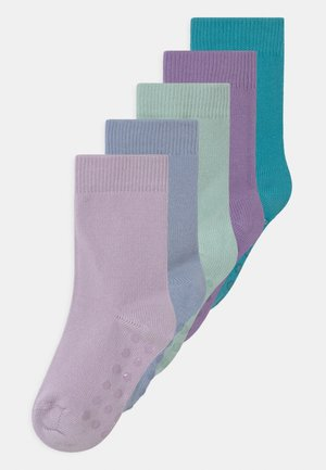 5 PACK UNISEX - Socks - light blue