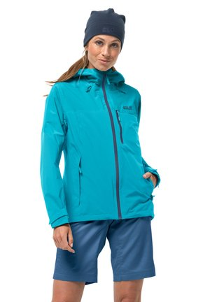 Hardshell jacket - dark aqua