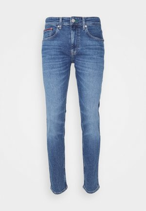 AUSTIN SLIM TAPERED - Tapered-Farkut - mid blue denim
