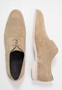 HUGO - MIDTOWN - Smart lace-ups - medium beige - 1