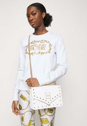 STUDS REVOLUTION CROSSBODY - Across body bag - bianco ottico
