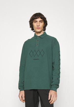 SHIRT LONG SLEEVE - Polo shirt - dusty green
