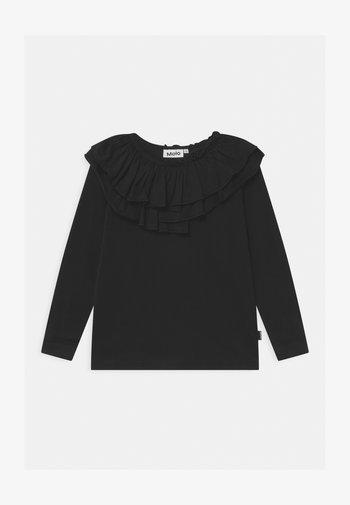 ROSAMOND - T-shirt à manches longues - black