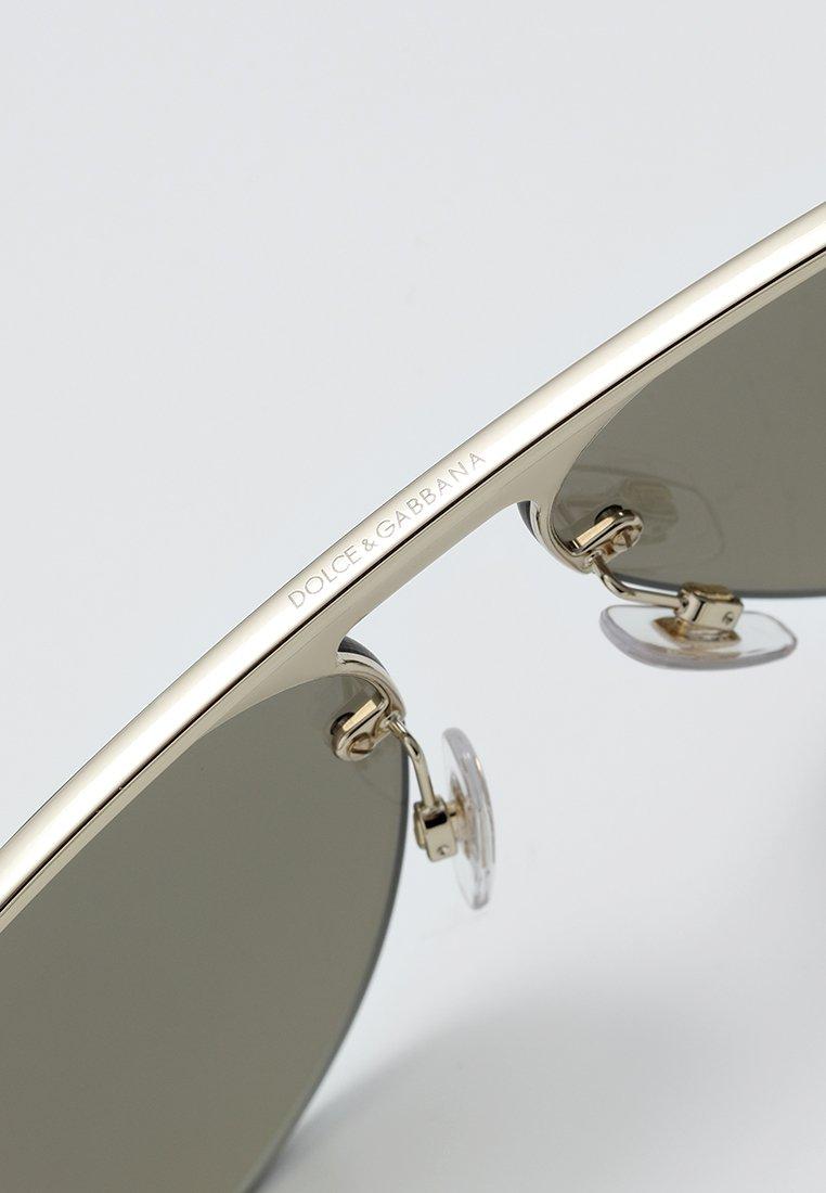 DolceGabbana Sonnenbrille - pale gold/light brown mirror gold/gold - Herrenaccessoires AadGE