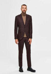 Selected Homme - Suit trousers - winetasting - 3