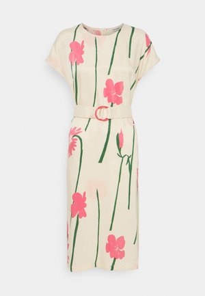 HIETSU TORIN KUKAT DRESS - Sukienka letnia - beige/pink/green
