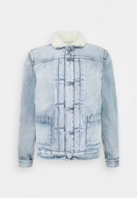 Levi's® Made & Crafted - TYPE SHERPA TRUCKER UNISEX - Jeansjacka - ice pick - 0