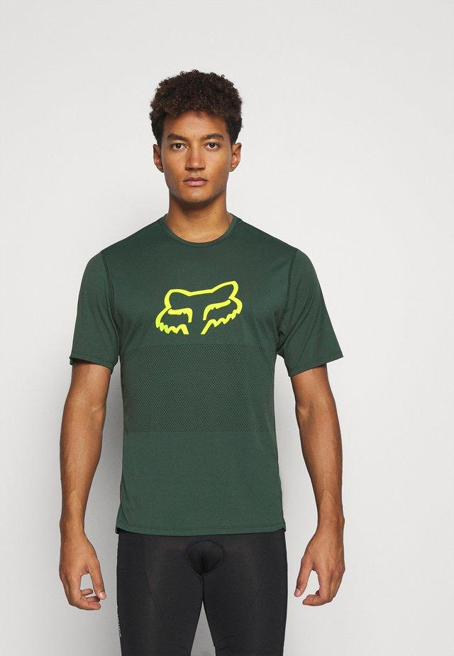 RANGER FOXHEAD  - Print T-shirt - green