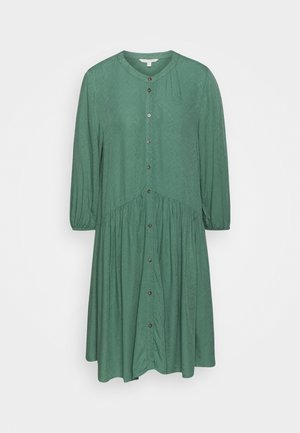 WITH BUTTON DOWN PLACKET - Robe chemise - vintage green
