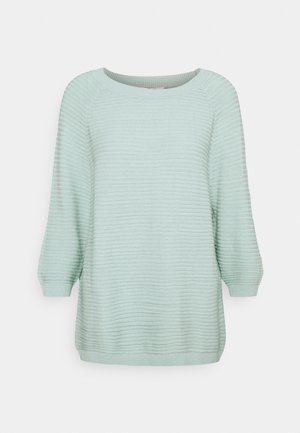 Strickpullover - light aqua green