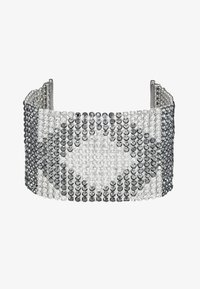 KARL LAGERFELD - CRYSTAL MESH DOUBLE  - Bracelet - silver-colored - 4