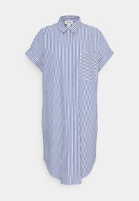Monki - WANNA DRESS - Skjortekjole - blue bright summer stripe - 6