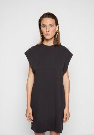 MAGGIE DRESS - Vestito di maglina - black