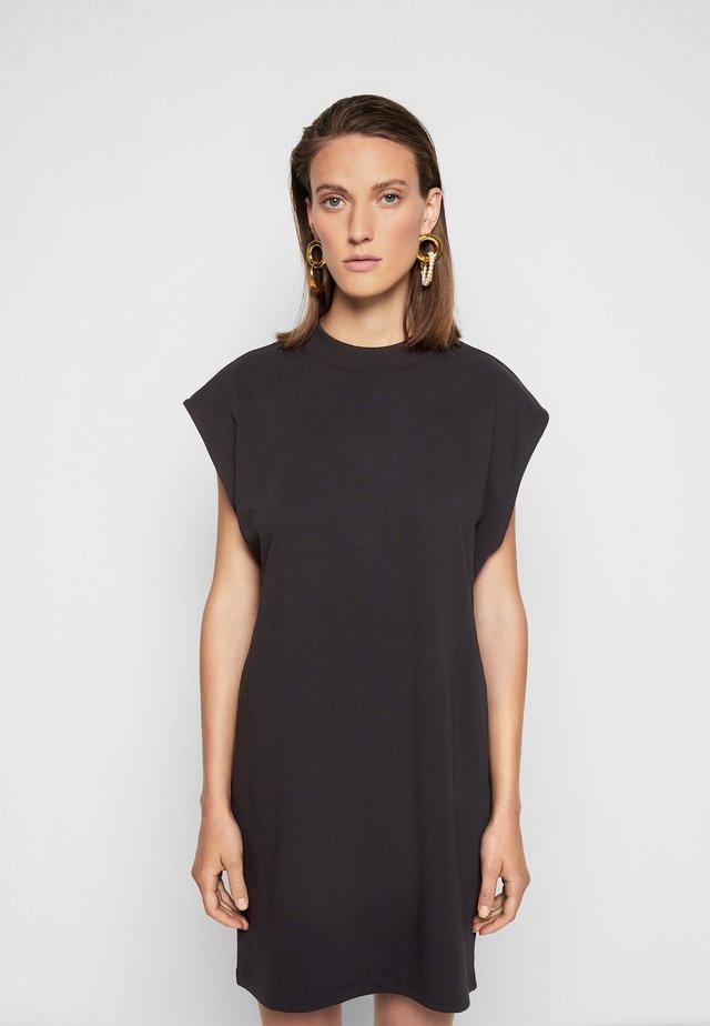 MAGGIE DRESS - Jerseyjurk - black