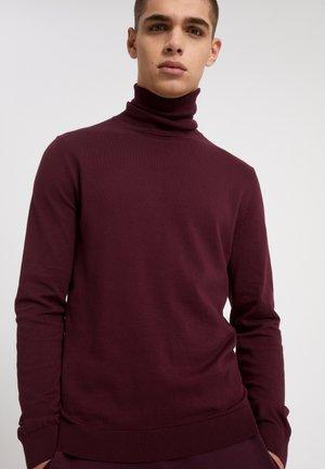 GLEN - Jumper - dark aubergine