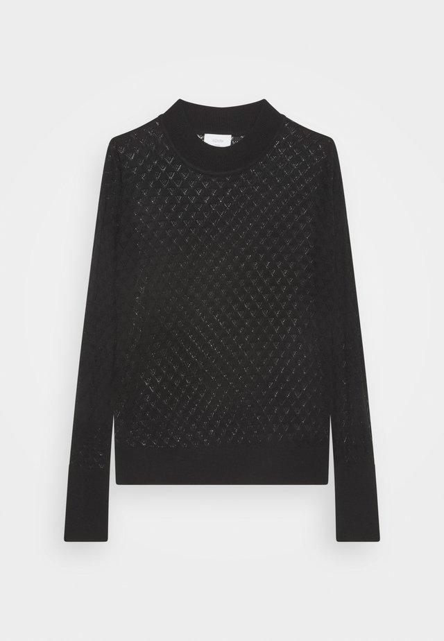 BECKY MIETTA - Pullover - caviar